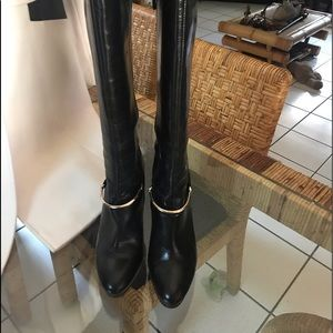 Nine West Pearson Wide Calf High Heel Boots